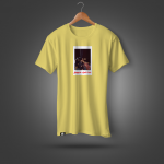 """Тениска """"8години So Called Crew"""" - жълта"""